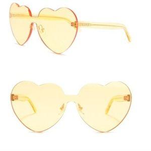 Diff eyewear NEW Rio heart sunglasses $85